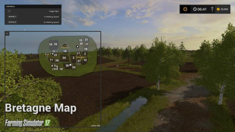 Bretagne Map V1 0 Farming Simulator 2017 Mods Ls Mods