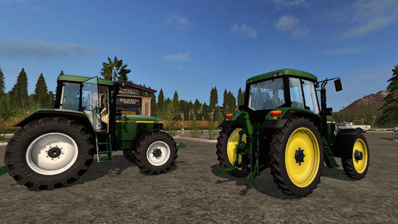 John Deere Side By Side >> John Deere 6810 v1.1 | Farming simulator 2017 mods | Ls ...