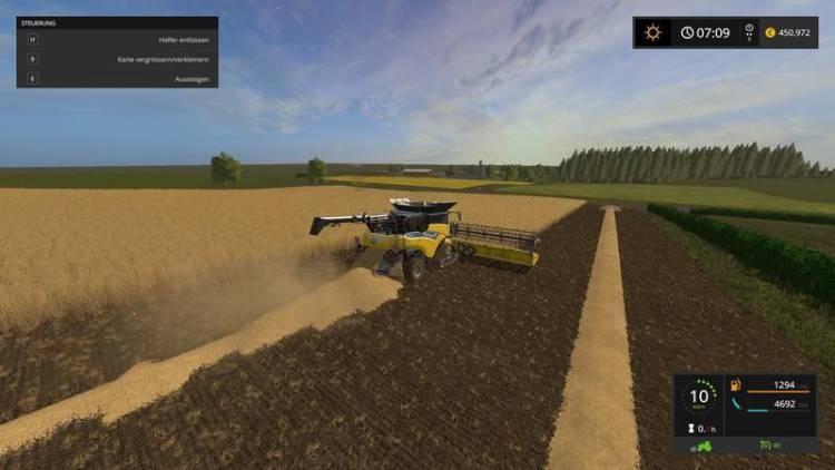 Instructions For All Unload And Swath Deposit Farming Simulator