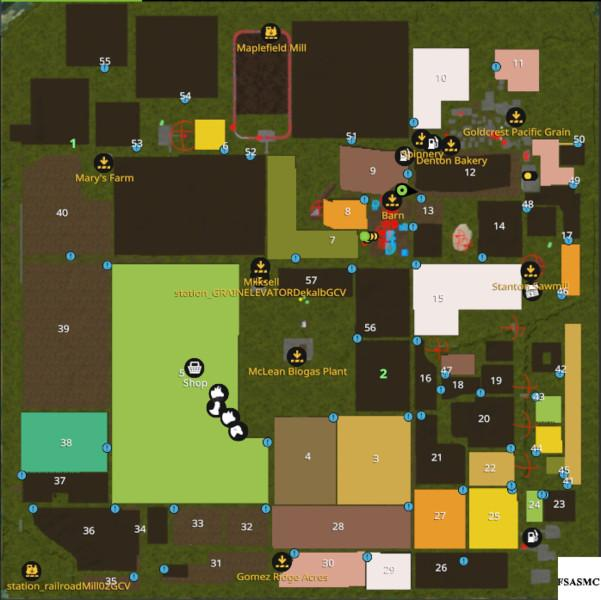 Oklahoma Usa V Farming Simulator Mods Ls Mods FS - Fs 17 us map