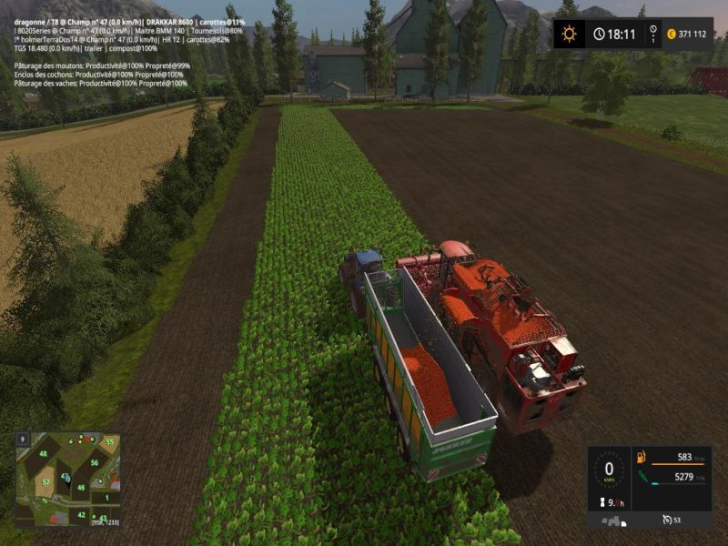 Vall Farmer multifruits V4 0 | Farming simulator 2017 / 2019 mods