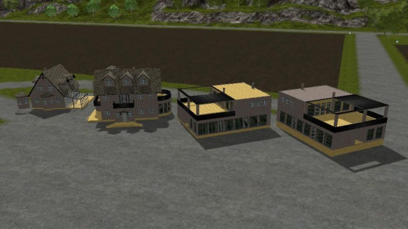 House building set prefab v1 0 farming simulator 2017 for House building simulator online