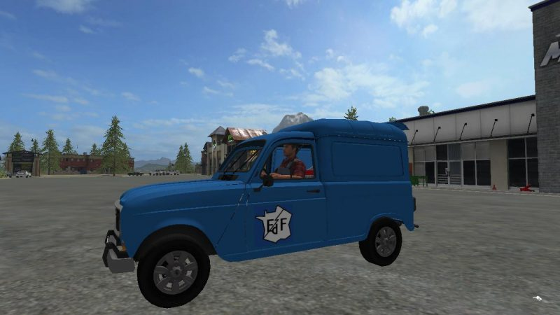renault 4l edf v1 0 farming simulator 2017 2019 mods ls mods 17 19 fs 17 19 mods. Black Bedroom Furniture Sets. Home Design Ideas