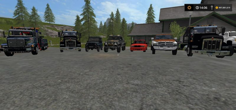 HEAVY TOWING AND REPO MOD PACK V1 0 0 | Farming simulator 2017