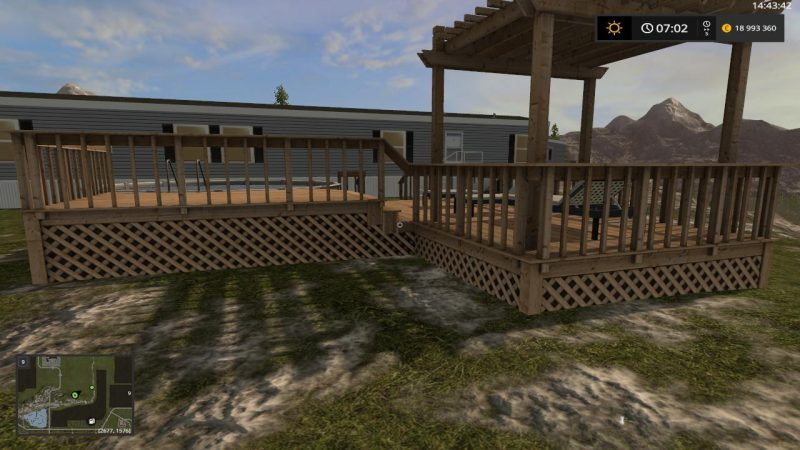 Piscine exterieure v1 2 farming simulator 2017 mods ls for Piscine simulator flex