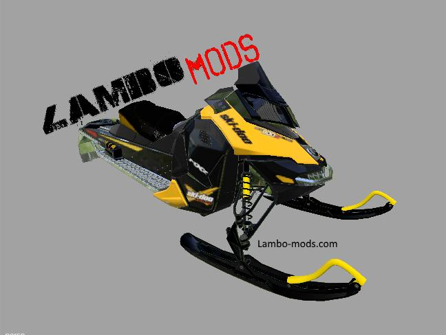FS17 SNOWMOBILE SKI DOO - MOD RELEASE BETA | Farming