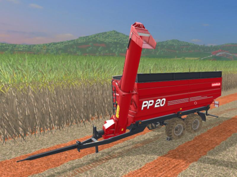 METALTECH PP20 SUGAR CANE V1 0 | Farming simulator 2017 / 2019 mods