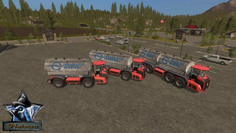 HOLMER PACK BY R&M MODDING | Farming simulator 2017 / 2019