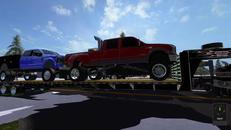 2017 Ford F150 Lifted >> LIFTED FORD TRUCKS PACK UNZIP V1.0 | Farming simulator 2017 mods | Ls mods 17 | FS 17 mods