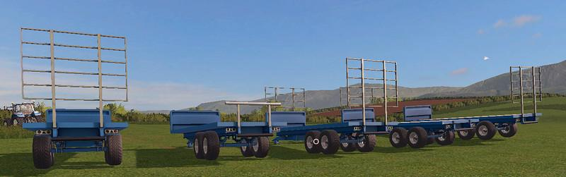 STEWART 15FT BALE TRAILER V1 0 1 | Farming simulator 2017 / 2019