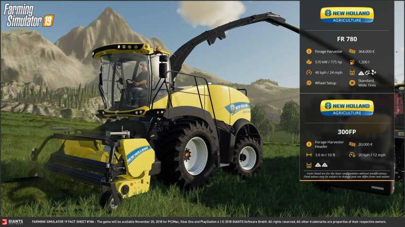 FARMING SIMULATOR 2019 FACT SHEET #9 | Farming simulator 2017 / 2019