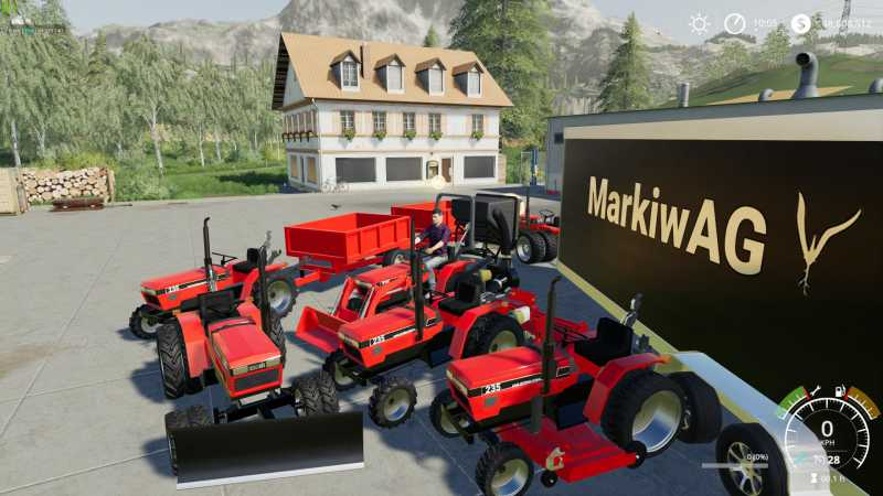 CASE IH 235 LAWN TRACTOR AND CAR HAULER MOD PACK V1 0 | Farming