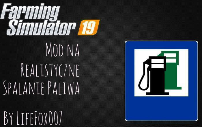 FUEL USAGE DISPLAY V1 0 0 0 | Farming simulator 2017 / 2019