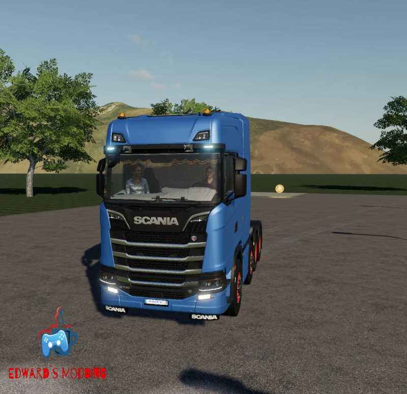 SCANIA R730 8X4 FS19 V1 0 | Farming simulator 2017 / 2019