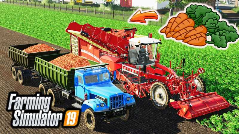 FS19 HOW TO GROW AND HARVEST CARROTS V1 0 | Farming